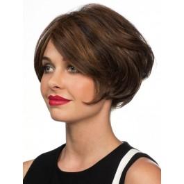 Perruque Haute Qualité Cheveux Naturels Ondulée Lace Front