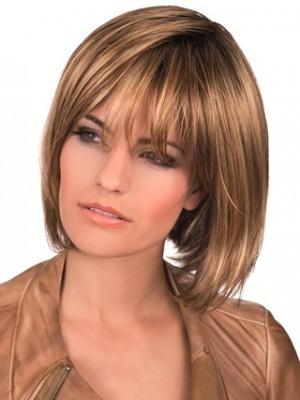 Perruque Lace Front De Cheveux Naturels De Style Bob