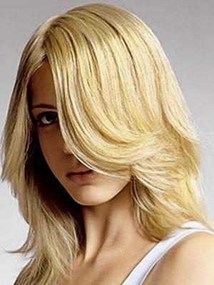 Perruque Jolie Lisse Capless Cheveux Naturels Brésiliens