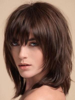 Perruque TopQualité Lisse Capless Cheveux Naturels