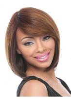 Perruque Merveilleuse Lisse Cheveux Humains Capless