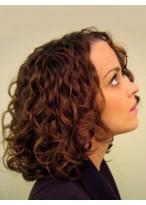 Perruque Nouveau Style Frisée Lace Front Cheveux Naturels