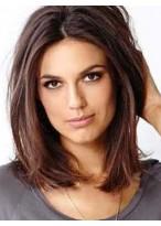 Perruque Bob Jolie Lisse Lace Front Cheveux Naturels