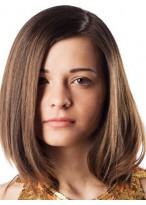 Perruque Merveilleuse Lisse Lace Front Cheveux Naturels