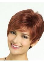 Perruque Bonne Lisse Capless Cheveux Naturels