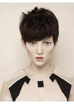 Perruque Agréable Lisse Capless Cheveux Naturels