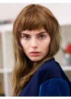 Perruque Séduisante Lisse Capless Cheveux Naturels