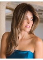 Perruque De Qualité Supérieure Lisse Lace Front Cheveux Naturels