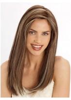 Perruque Lisse Longue Lace Front De Cheveux Naturels