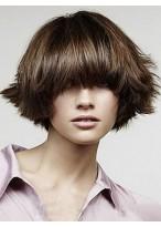 Perruque Durable Lisse Capless Cheveux Natureles