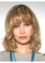 Perruque Superbe Ondulée Lace Front Cheveux Natureles