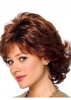 Perruque Merveilleuse Cheveux Natureles Ondulée Capless