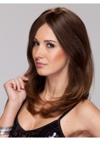 Perruque Belle Apparence Lisse Capless Cheveux Humains