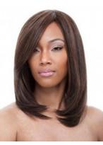 Perruque Chatoyante Soyeuse Lisse Lace Front Cheveux Naturels