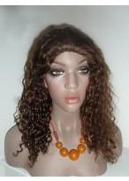 Perruque Gracieuse Lace Front De Cheveux Naturels