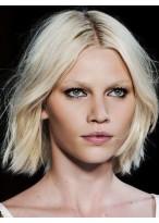 Perruque Douce Lisse Cheveux Naturels Lace Front