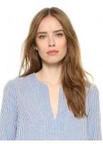 Perruque Merveilleuse Lisse Cheveux Naturels Lace Front