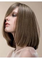 Perruque En Vogue Lisse Lace Front Synthétique