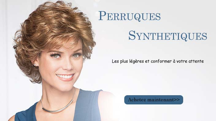 perruques synthetiques