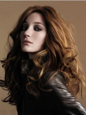 Perruque Moderne Cheveux Humains Ondulée Full Lace
