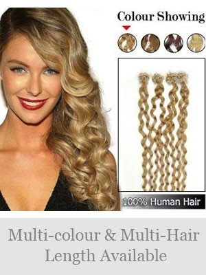 5Ocm Micro Loop Extensions Élégantes De Cheveux De Cheveux Naturels