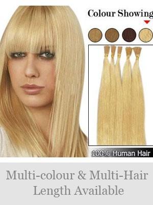 45Cm Bâton Extensions De Cheveux Naturels