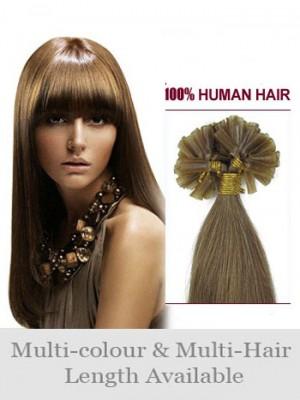 56Cm Ongles Extensions Lisses Charmantes De Cheveux Naturels