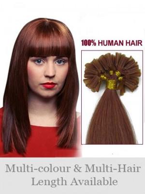 66Cm Ongles Extensions Lisses Belles De Cheveux Naturels