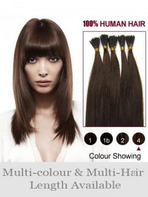 4Ocm Bâton/I Tip Extensions Charmantes De Cheveux Naturels