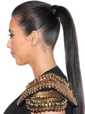 61Cm Queue De Cheval Longues Lisses De Cheveux Naturels