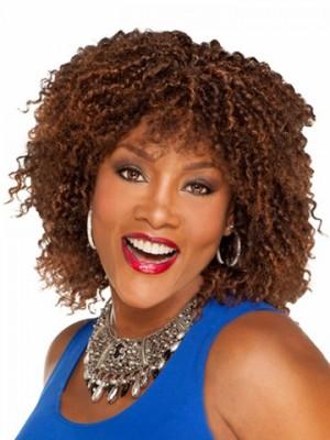 Perruque Afro-Américaine Frisée Impressionnante