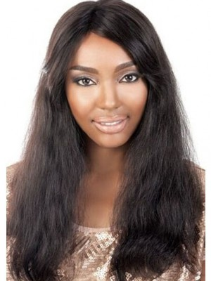 Perruque Multicouche Ondulée Lace Front Cheveux Naturels