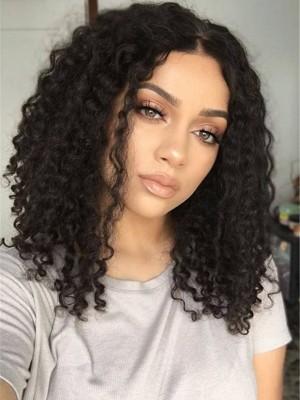 Perruque Bonne Afro-Américaines Frisée Lace Front Synthétique