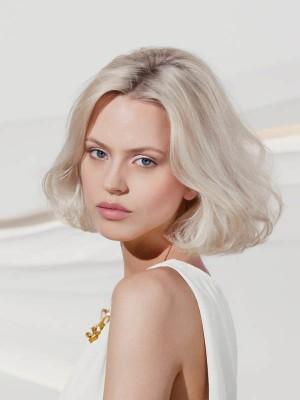 Perruque Ondulée Lace Front Cheveux Naturels
