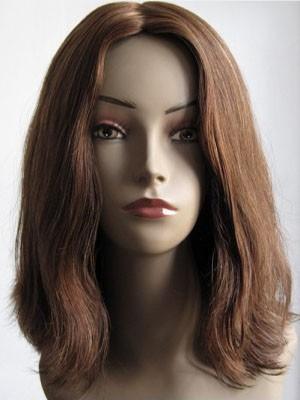 Perruque Douce Ondulée Lace Front Cheveux Naturels
