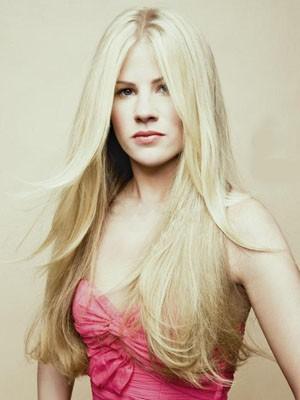 Perruque Cheveux Naturels Lace Front Lisse À La Mode