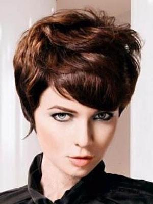 Perruque Cheveux Naturels Capless Ondulée Populaire