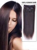 35Cm Extension Lisse Mi-Longue De Cheveux