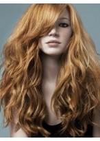 Perruque Merveilleuse Ondulée Cheveux Naturels Capless