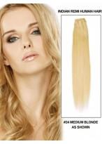 56Cm Tissage Lisse Superbe De Cheveux Indiens