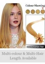 45Cm Ongles Extensions Belles De Cheveux Naturels