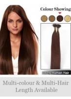 45Cm Bâton Extensions De Cheveux Naturelsà La Mode