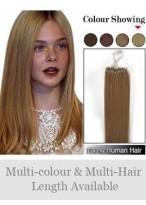 45Cm Micro Loop Extensions Étonnantes De Cheveux Naturels