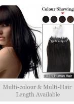 45Cm Micro Loop Extensions Simples De Cheveux Naturels