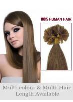 50Cm Ongles Extensions Charmantes De Cheveux Naturels
