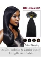 4Ocm Ongles Extensions Superbes Lisses De Cheveux Naturels