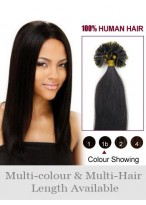 56Cm Ongles Extensions Lisses Comfortables De Cheveux Naturels