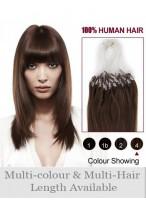40Cm Micro Loop Extensions De 100% Cheveux Naturels