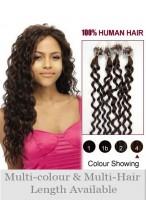 61Cm Micro Loop Extensions De Cheveux Naturels