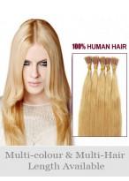 4Ocm Bâton/I Tip Extensions De Cheveux Naturels